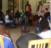 Game nights, school, and a little love counter the street's rule in Zambia