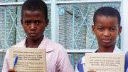 Baptist Global Response is assisting children in their schooling
