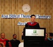 Cornerstone University has new dean in Asia