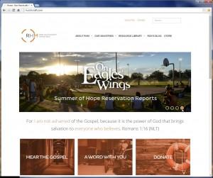 Screen shot of Web site - RHH_2014_001