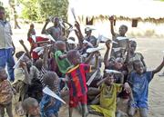 Chageen children crave love