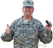 Bible sticks help troops, families