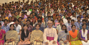 India's youth gather to focus on the future
