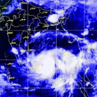 Rohingya lucky to have a plastic tarp as severe tropical storm approaches