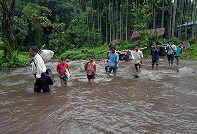 Rain frustrates rescue and relief efforts; GFA teams press on