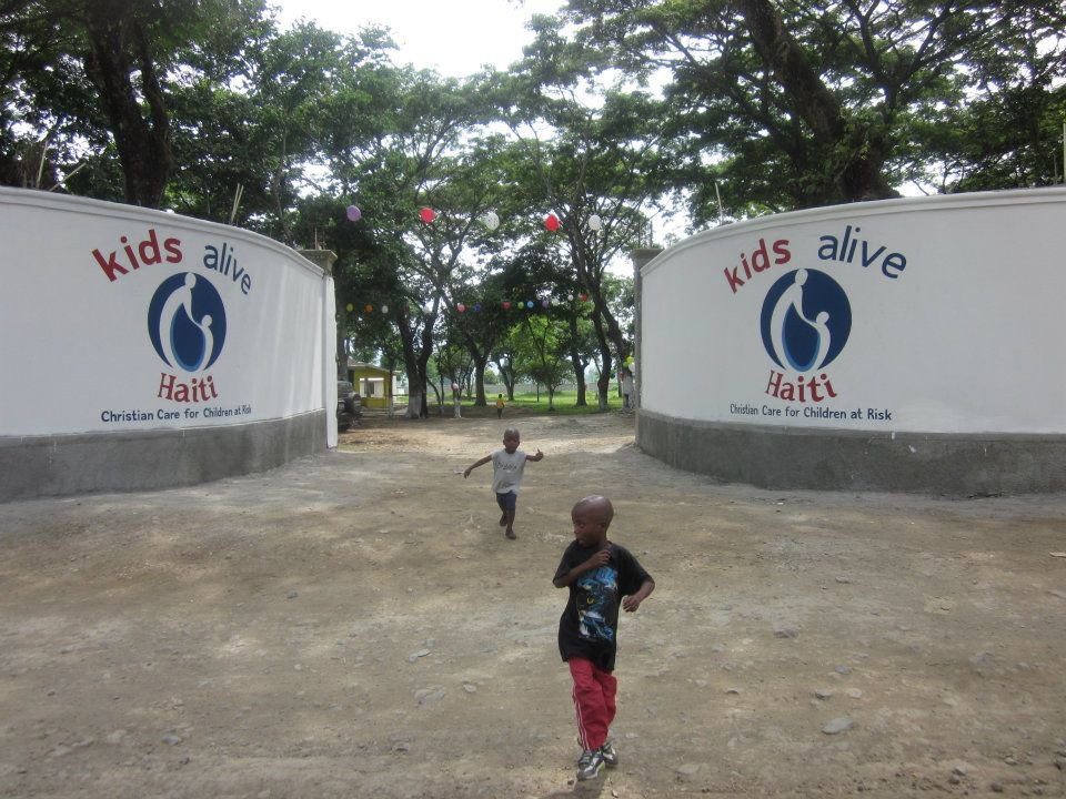 Children's Village gates through Kids Alive. (Photo courtesy of Kids Alive)