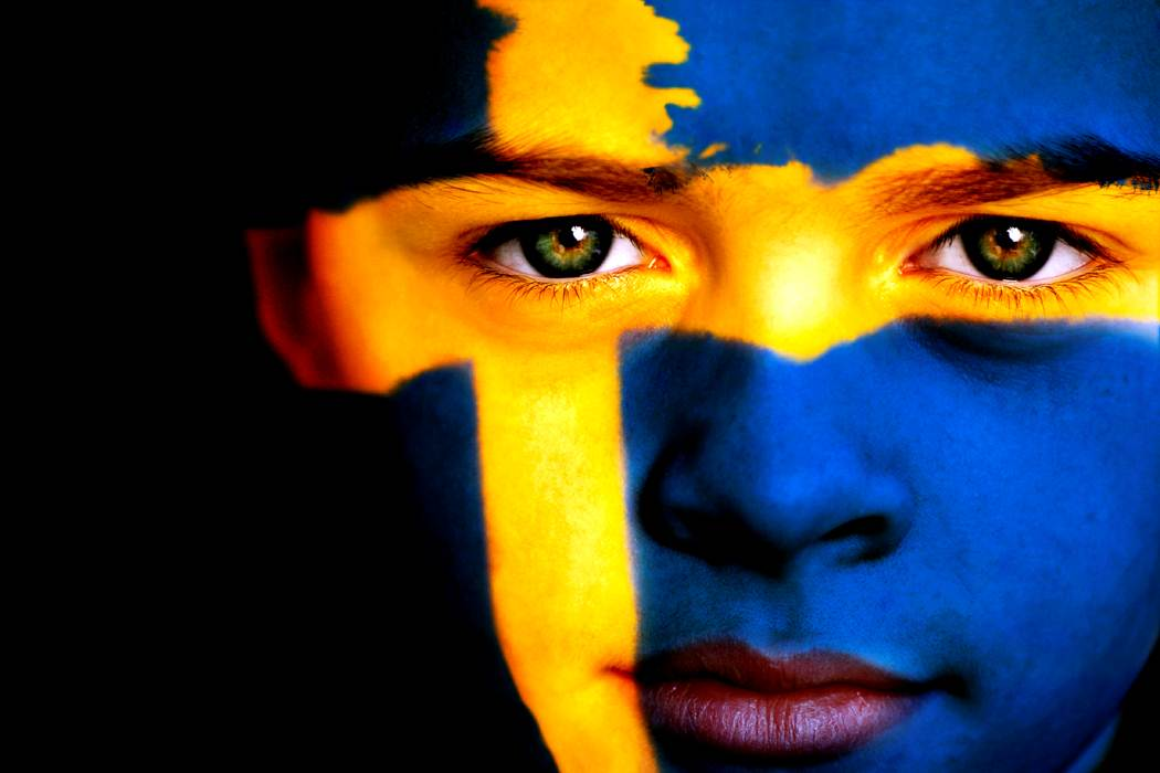 Marking National Day in Sweden