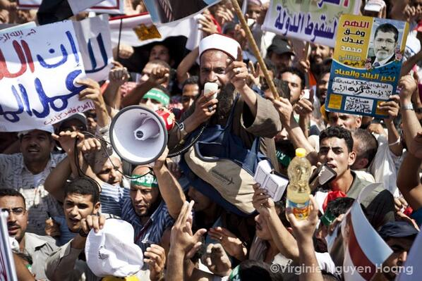 Battle for Egypt isn't one of flesh and blood
