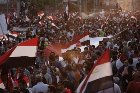 Juxtaposed uprisings in Egypt