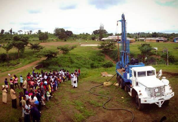 Living Water drill inspires Liberian community