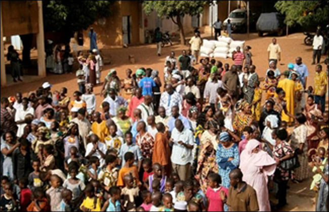 Mali holds election after year of turmoil.