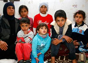 Through partners on-the-ground, BGR is helping Syrian refugee families of all faiths. (Image courtesy BGR)