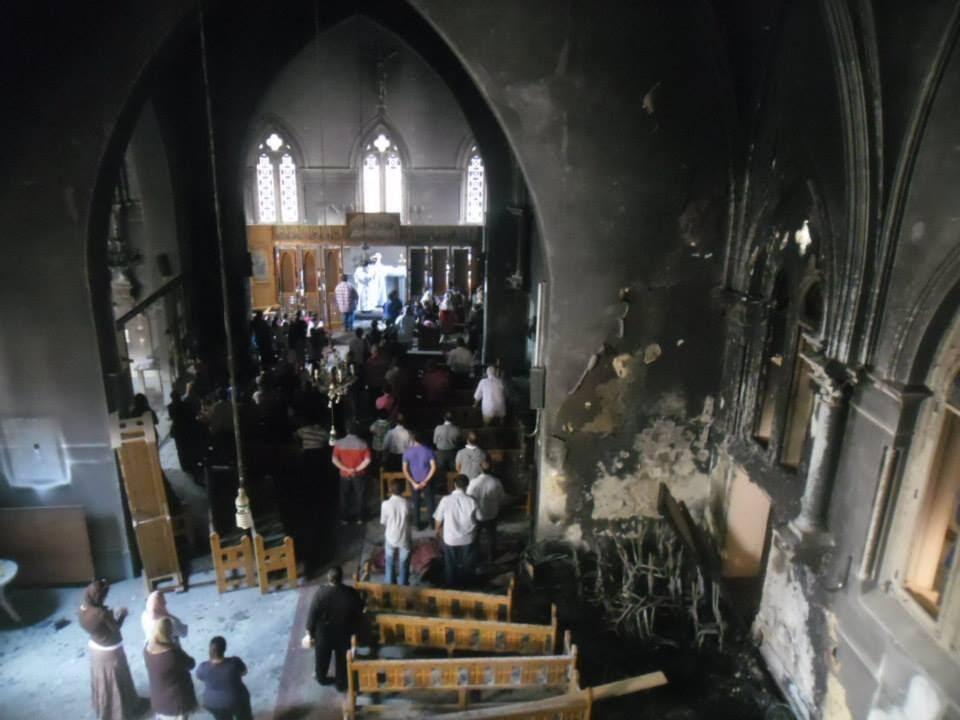 Church attacks finally making international news