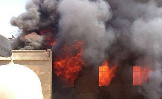 Extremist mob burns 80 Christian homes in Al-Beida village