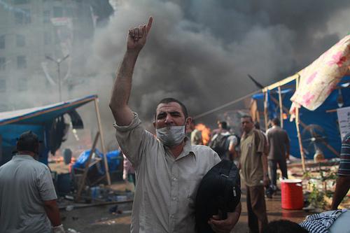 Fridays are dangerous in Egypt.