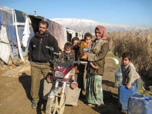 Syrian refugees in camps like these need relief. (Photo courtesy of Open Doors)