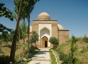 Mosque in Kazakhstan. (Photo courtesy of Ken and Nyetta/Flickr)