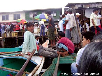 Chaos in the Philippines disrupts outreach.