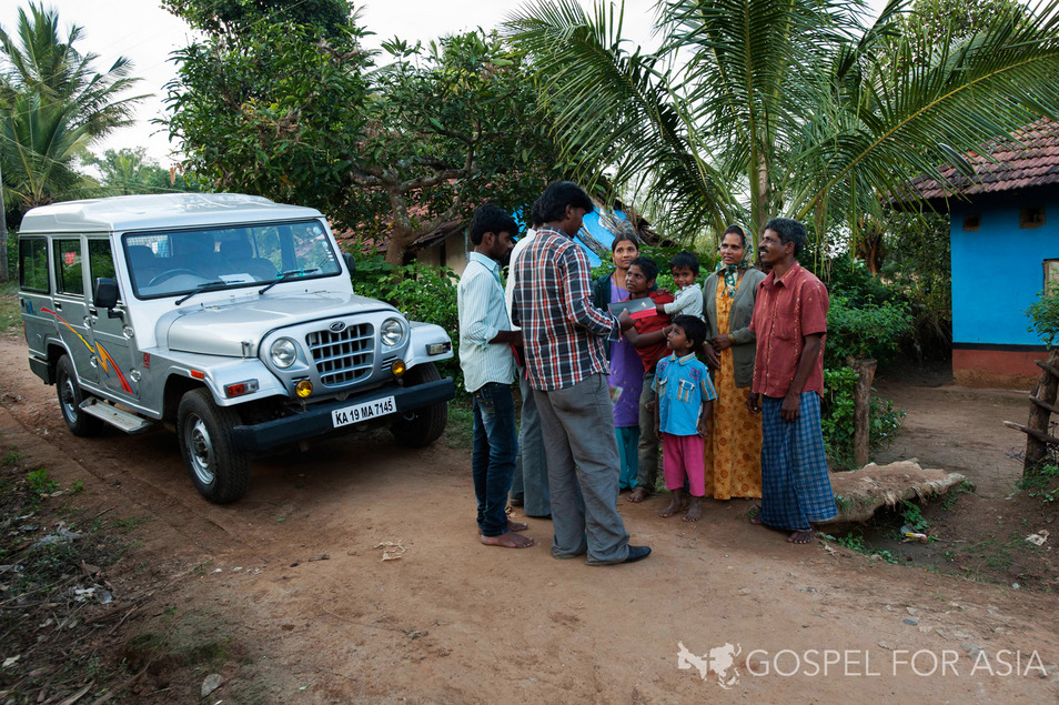 Church planter too successful in India