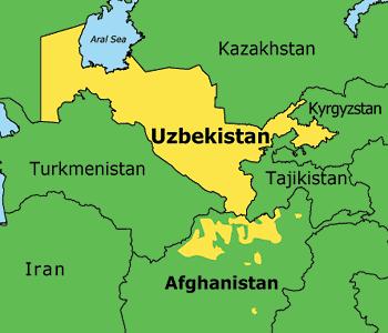 Uzbek church camp seized.