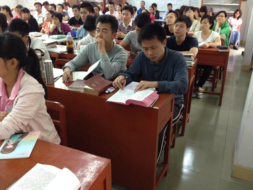 Training the trainers in China