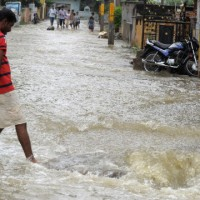 Heavy rain adds to Cyclone Phailin misery