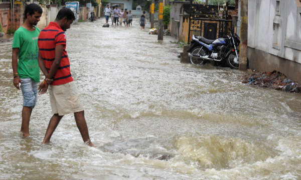 Heavy rain adds to Cyclone Phailin misery