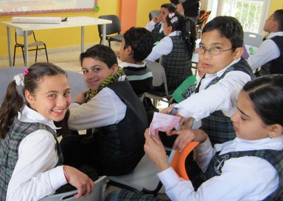 BGR school shines a light in Gaza