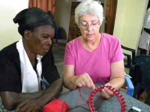 Former shrine slaves are given the skills they need to start over again at ECM's New Life Center. (Image courtesy ECM)