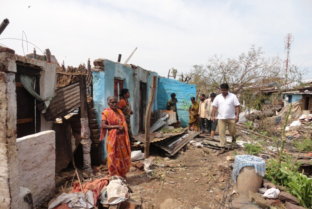 Phailin's wrath: one month later - Mission Network News