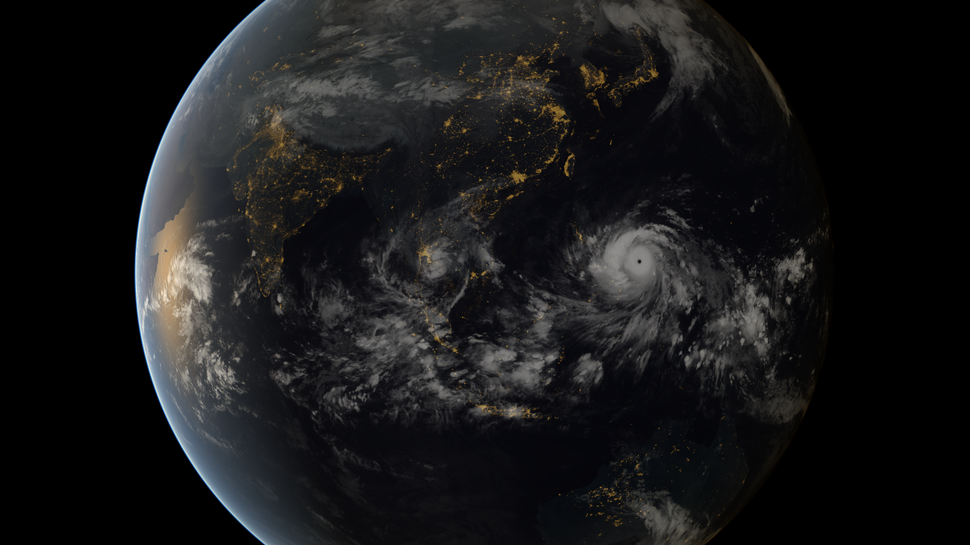 Super storm sweeps the Philippines