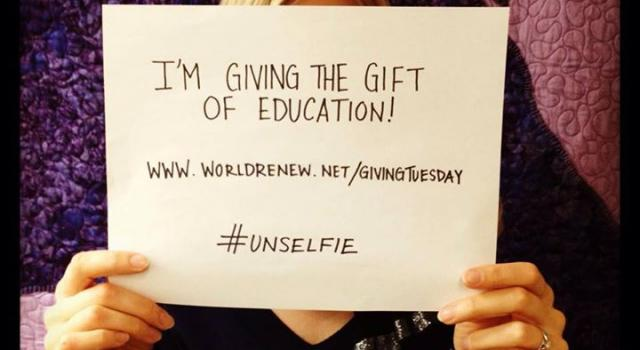 World Renew highlights literacy on #GivingTuesday