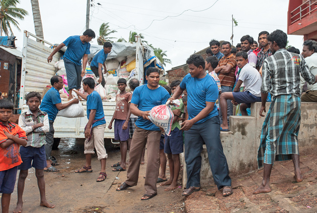 Back-to-back cyclones hit India coast