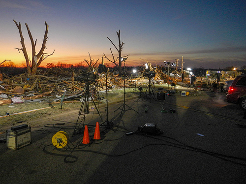 Midwest cleanup underway from November freak storms