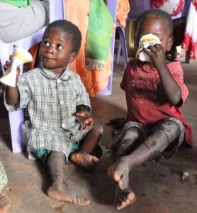 Kamonkoli orphans in Uganda need your help.  (Image courtesy Orphan's Heart)
