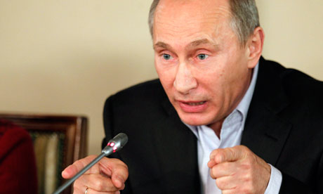 Putin threatens to annihilate terrorists