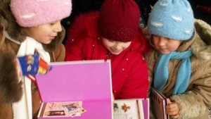 Slavic Gospel Association is supporting children's ministry up until Russian Christmas January 7. (SGA photo)