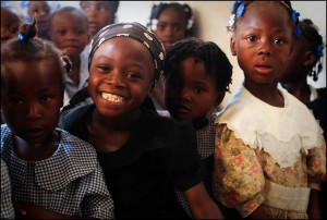 3 years ago today a 7.0 magnitude earthquake shook Haiti. Today we are blessed to see smiling faces and the gospel making an impact throughout the nation.  (Image, caption courtesy BHM)