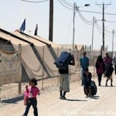 Syrian refugees (photo courtesy of Christian Aid Mission)