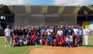 Cornerstone University baseball players share Christ in Cuba.