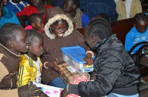 Sudanese refugees recently celebrated Christmas in Egypt