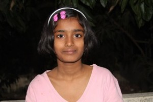 Mounica is one of the children taken in by the Sydney family.  (Image courtesy Far Corners)