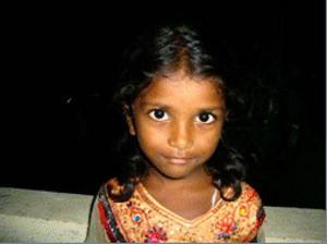 little India girl