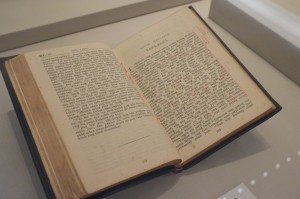 A Baba Malay Bible in the Peranakan Museum.  (Photo cred Jerry Wong via Flickr)