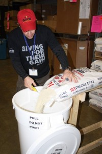 Immediately following the 2010 earthquake, GAIN sent over a million meals to survivors.  (Image courtesy GAIN)