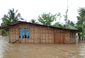 Flooding in the Philippines washes out 44 villages in the south (World Mission Photo).