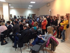 Church leaders discuss anti-protest legislation in Ukraine.