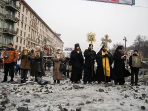 Faith community takes action as Ukraine gets more violent