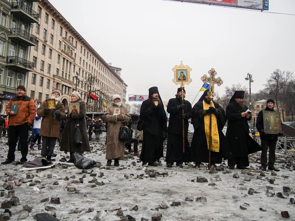 Faith community takes action as Ukraine gets more violent