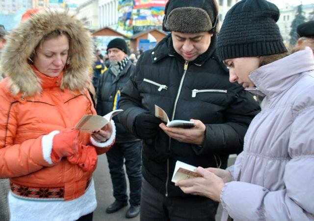 Healing in Ukraine is needed now as country divide widens. Protestors are hungry to read Scripture.